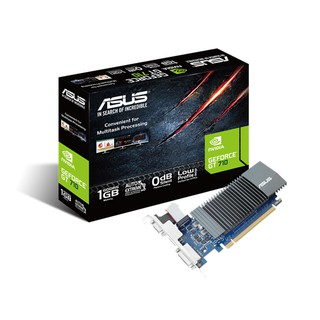 Card màn hình ASUS GT710-SL-1GD5, 64-bit, DVI+HDMI
