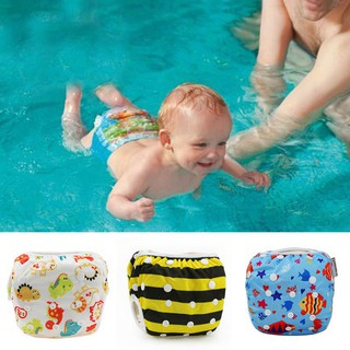 Tã chống nước họa tiết hoạt hình dành cho bé đi bơi tiện lợi