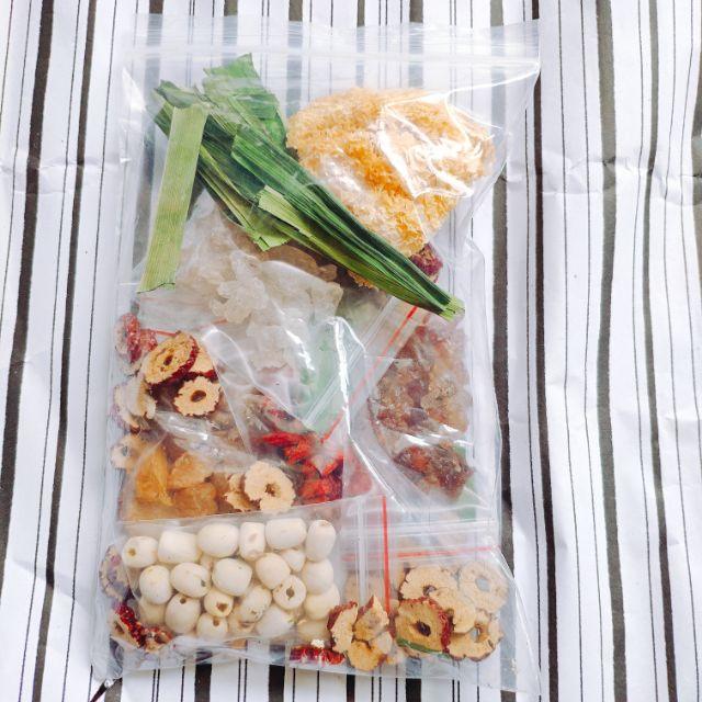 Set Chè Dưỡng Nhan cho 8-10 phần ăn
