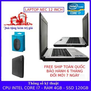 (Hàng nhập khẩu) Laptop xách tay siêu bền, nguyên zin, tốc độ nhanh chiến các loại game online, xem phim, nghe nhạc. thumbnail