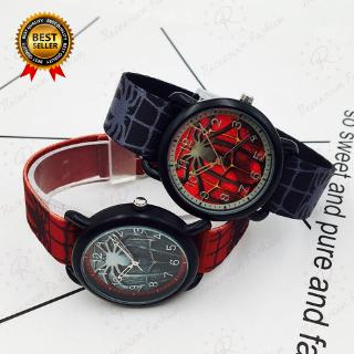 Spider-Man Watch For Kids Avengers Superhero Quartz Watches Boys Birthday Gift thumbnail