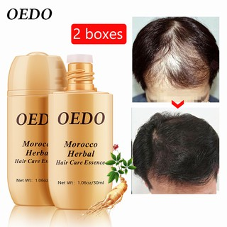 2PCS OEDO Herbal Ginseng Multi-functional Nourishing Repair Hair For Loss Fast Powerful Growth Repair Hair Root thumbnail