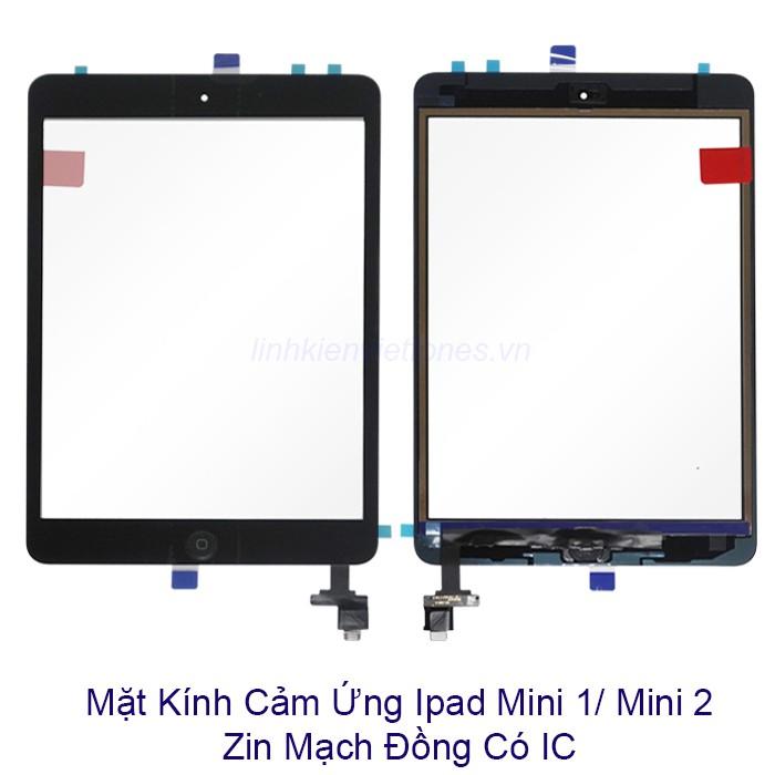 Mặt kính cảm ứng Ipad mini 1/ mini 2 có IC