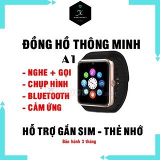 Đồng hồ thông minh Smart watch A1 xài sim nghe gọi được