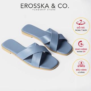 Dép đi biển thời trang Erosska 2021quai chéo DE029