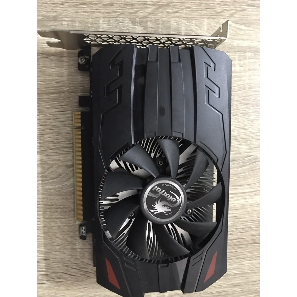 GTX1050 2Gb DDR5 Coloful không dùng nguồn phụ còn BH 09/2021 Giá chỉ 2.150.000₫