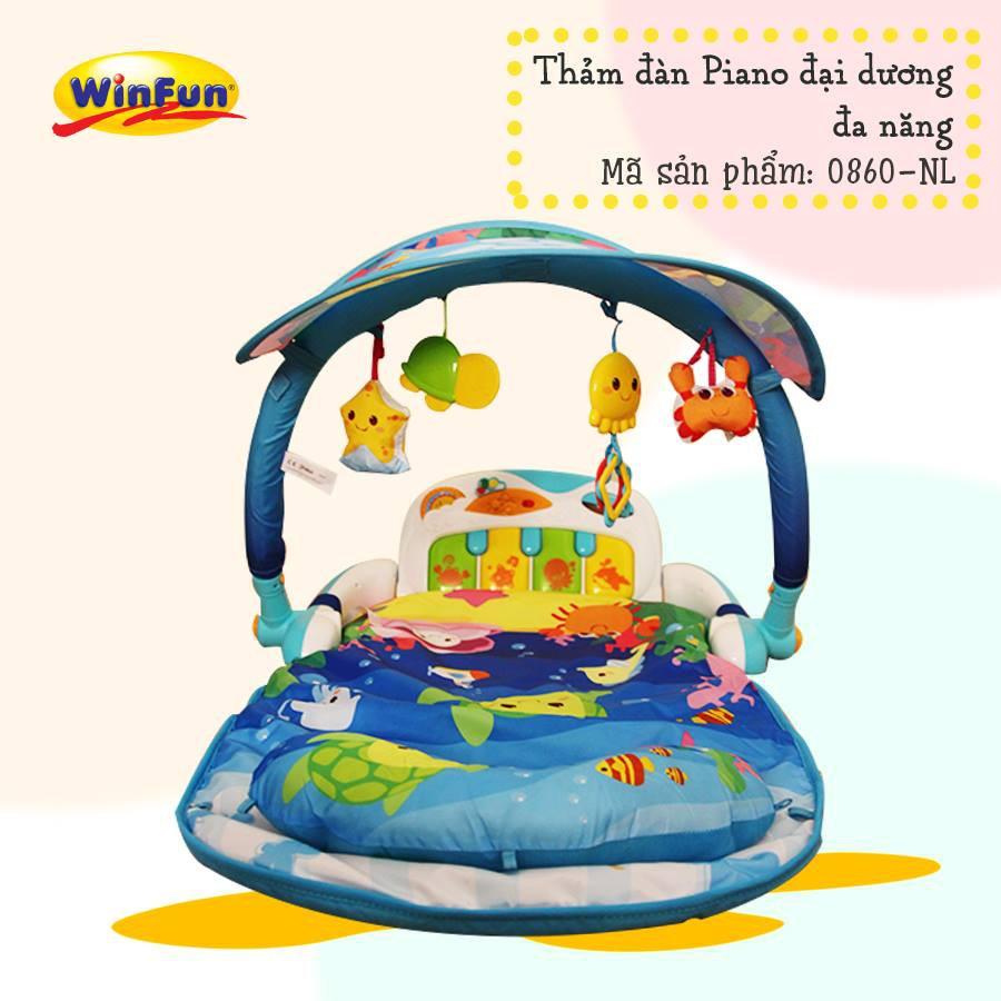Thảm đàn piano đại đương đa năng Winfun - Hàng chính hãng