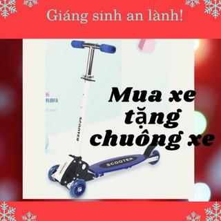 Yêu Thích(HCM)Xe trượt scooter 3 bánh phát sáng xe chòi chân cho bé(loại 1)