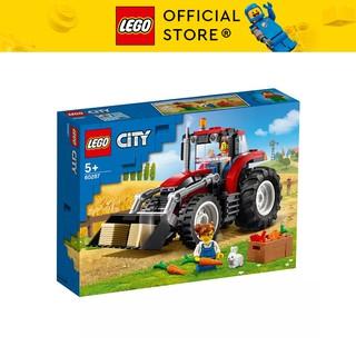 LEGO CITY 60287 Máy Kéo ( 148 Chi tiết) Bộ gạch đồ chơi lắp ráp giao thông cho trẻ em