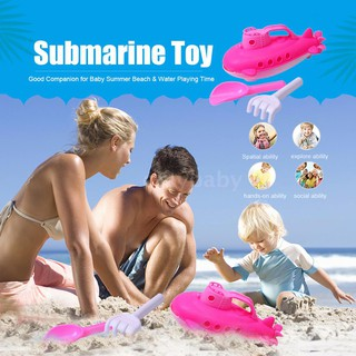 OMYBABY Submarine Toy Baby Bath Toy with Spinning Rear Propeller Shower Bathtub Toy for Baby Kids