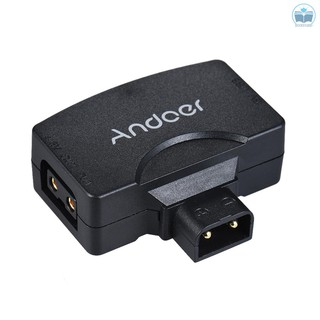 Andoer D-Tap to 5V USB Adapter Connector for V-Mount Camcorder Camera Battery for BMCC for  7/6/6plus for   iOS Android