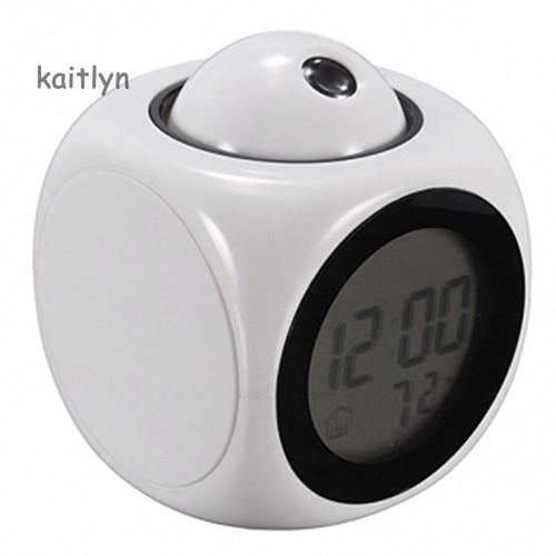 Đồng hồ báo thức màn hình LCD đa năng hiển thị giọng nói