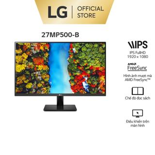 """Màn Hình LG 27MP500-B 27"""" IPS 75Hz FHD AMD FreeSync™"""
