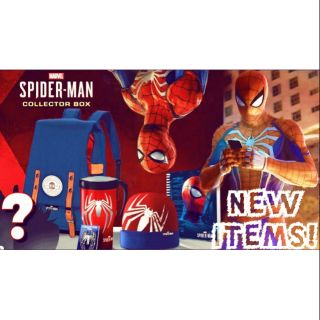 phụ kiện Spiderman Collector box