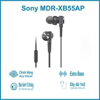 [Mã ELMS05 giảm 5% đơn 300k][CHÍNH HÃNG] Tai nghe nhét tai Sony XB55AP - Bảo hành chính hãng 12 tháng