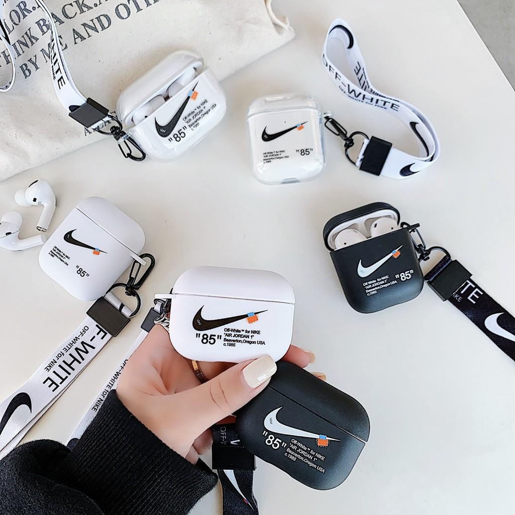 Vỏ đựng bảo vệ cho hộp sạc tai nghe Airpods Pro 1/2/3 có dây đeo xinh xắn  giá cạnh tranh