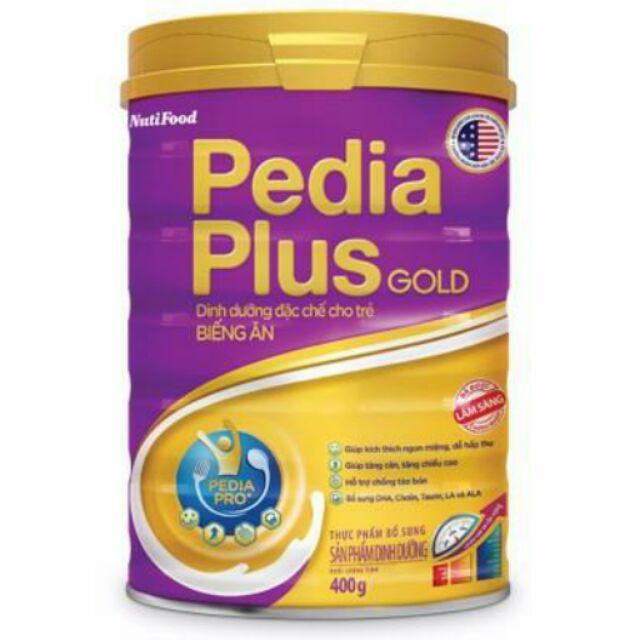 Sữa bột pedia plus gold 900g (date tháng 5.2021)