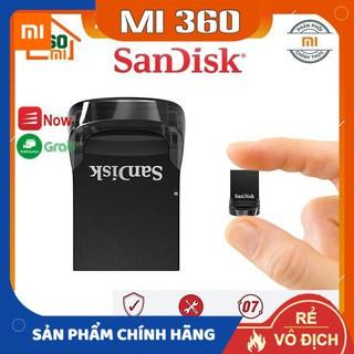 [ Chính Hãng] USB 3.1 SanDisk CZ430 16Gb/ 32Gb/ 64Gb/ 128Gb Ultra Fit Flash Drive tốc độ upto 130MB/s