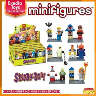 Bộ 6 minifigure nhân vật phim hoạt hình Scooby-Doo | BELA 10455-10460