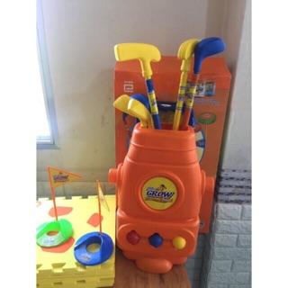 Bộ đồ chơi đánh golf mini cho bé quà tặng từ abbott grow