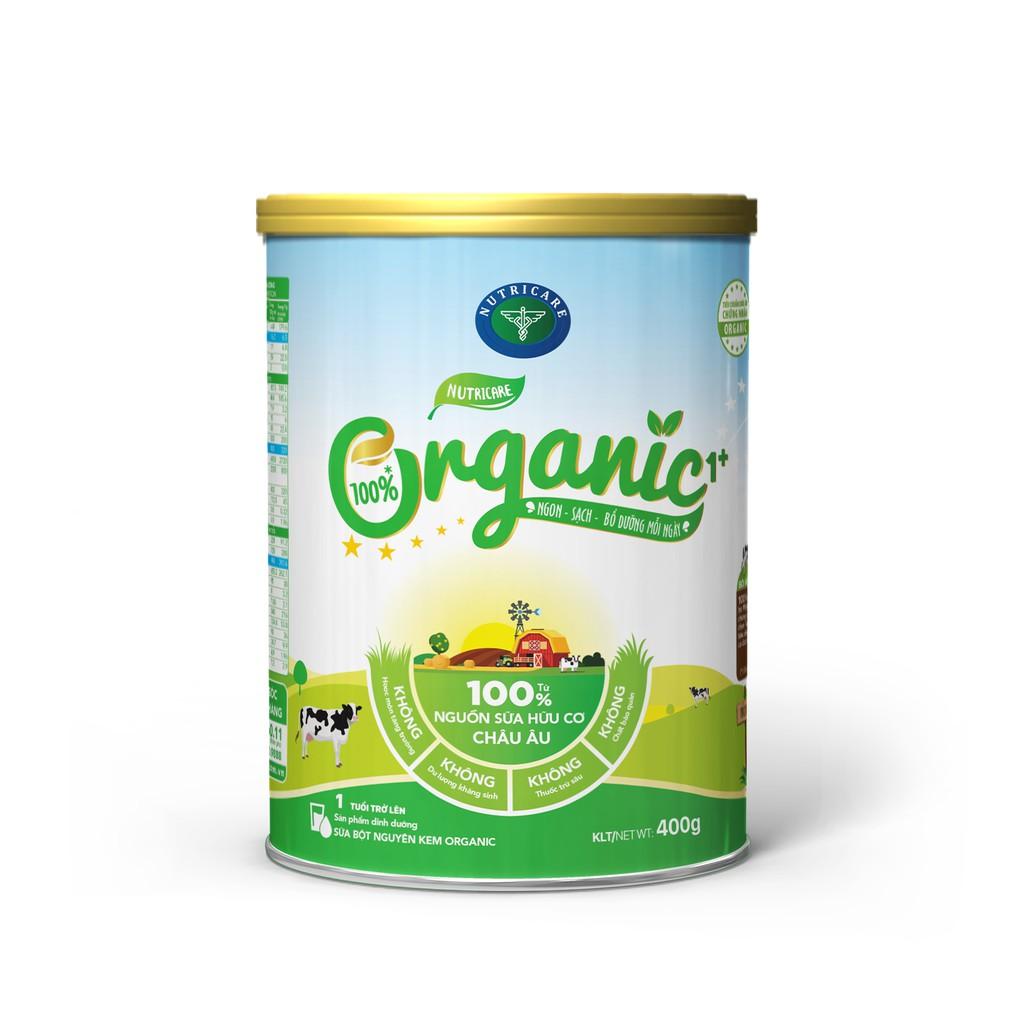 Sữa Nutricare Organic loại 900gam