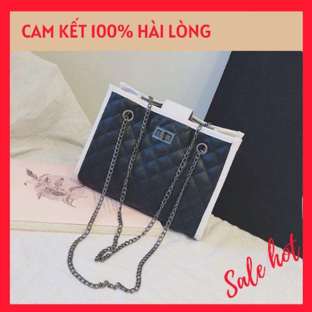 Freeship- Túi xách nữ sóng hình thoi Hàn Quốc – 155B02 sale hot