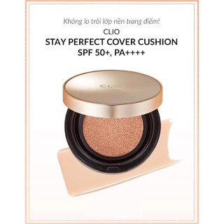 Phấn nước Clio Stay Perfect Cover Cushion SPF50+ PA++++ thumbnail