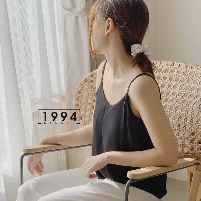 Áo 2 dây vintage dáng hàn