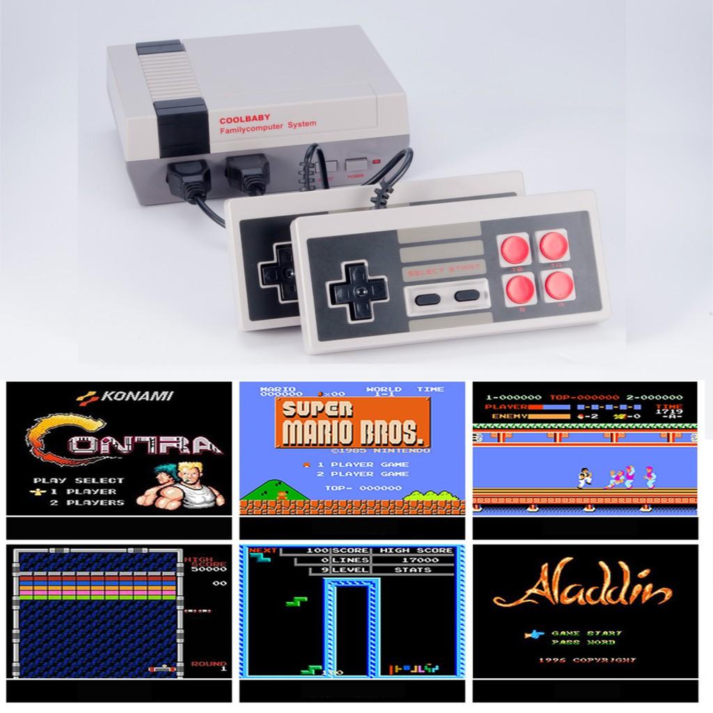 Máy chơi game 4 nút kiểu Nintendo Classic có HDMI tích hợp 600 game