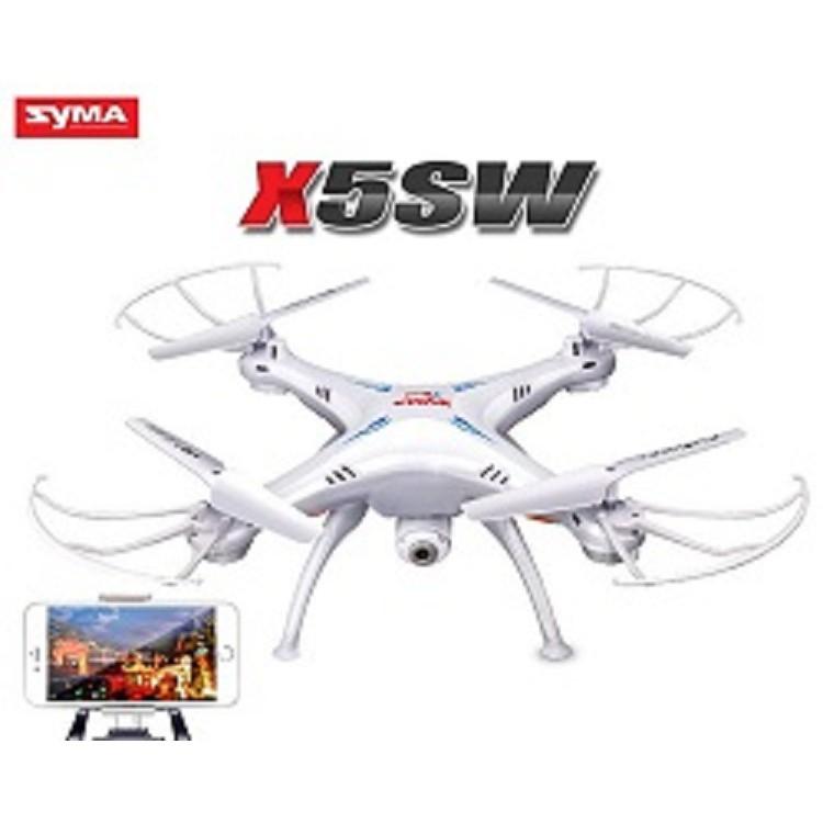 Flycam Drone Syma X5SW (Bản Châu Âu Cao cấp) Máy Bay Quay Phim - 10004267 , 1030122733 , 322_1030122733 , 1500000 , Flycam-Drone-Syma-X5SW-Ban-Chau-Au-Cao-cap-May-Bay-Quay-Phim-322_1030122733 , shopee.vn , Flycam Drone Syma X5SW (Bản Châu Âu Cao cấp) Máy Bay Quay Phim