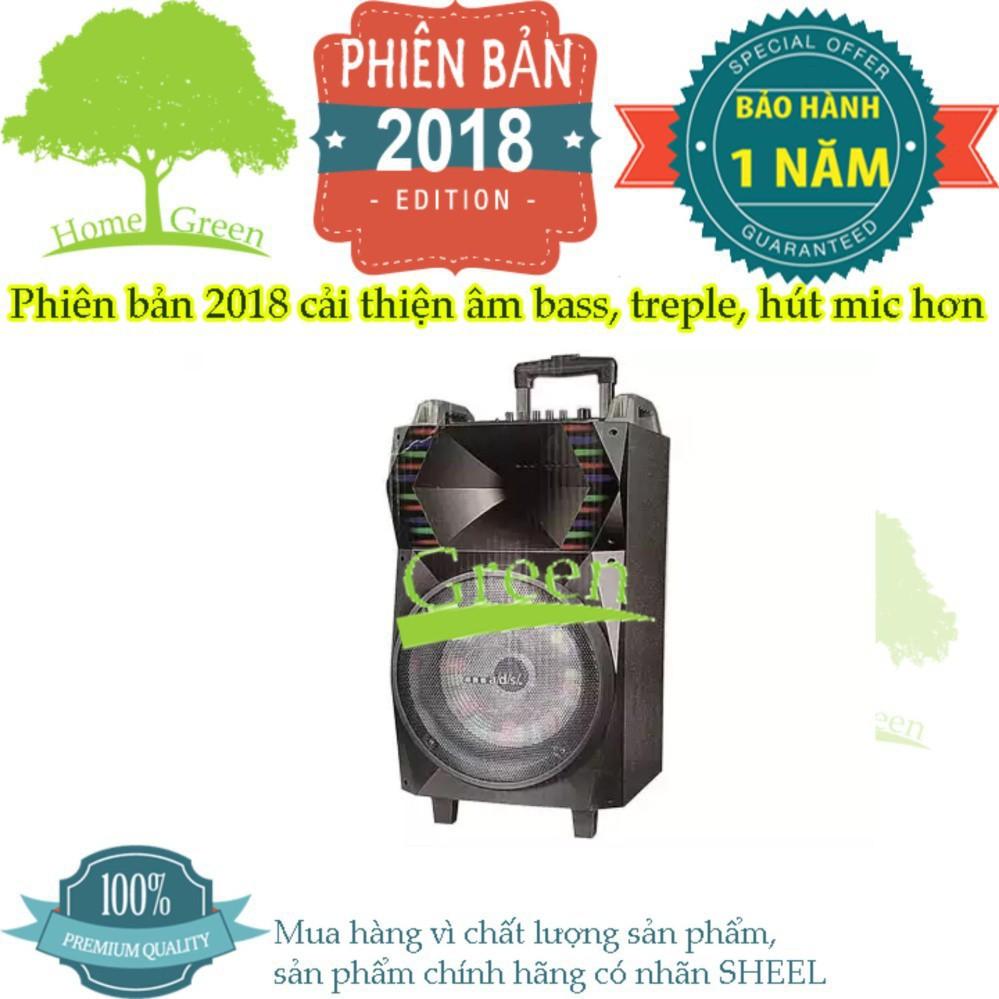 Loa vali kéo di động A/d/s BL-T12B GREEN PHIÊN BẢN 2018