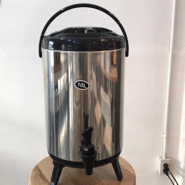 ถังพักชา 10 ลิตร (สีดำ)