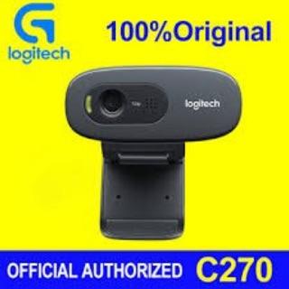 ( Kèm quà tặng)Thiết bị ghi hình Logitech C270- Hàng chính hãng