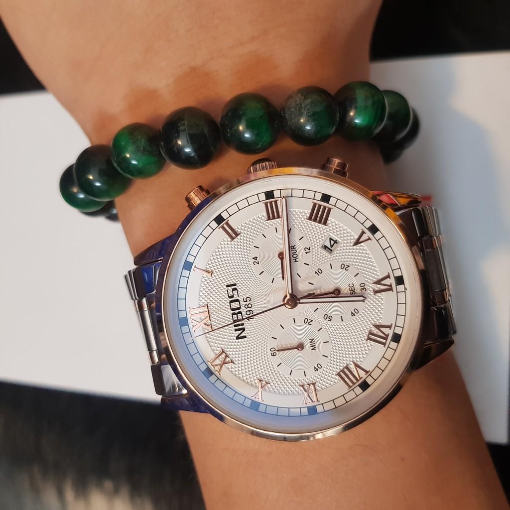 [Tặng vòng tay]Đồng hồ nam NIBOSI chính hãng NI2339.01 thời trang cao cấp