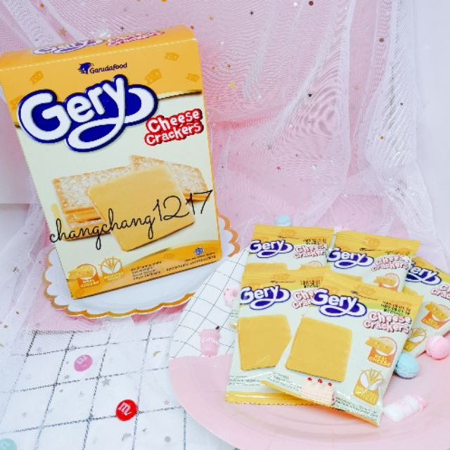 [Ăn Vặt] Bánh Gery Cheese Kẹp Phô Mai Hộp 20 Cái