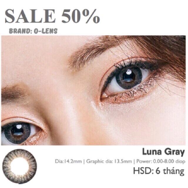 Áp tròng LUNA GRAY 3 COLOR của O-lens (HSD 6 tháng) - 3104377 , 1291422084 , 322_1291422084 , 190000 , -Ap-trong-LUNA-GRAY-3-COLOR-cua-O-lens-HSD-6-thang-322_1291422084 , shopee.vn ,  Áp tròng LUNA GRAY 3 COLOR của O-lens (HSD 6 tháng)