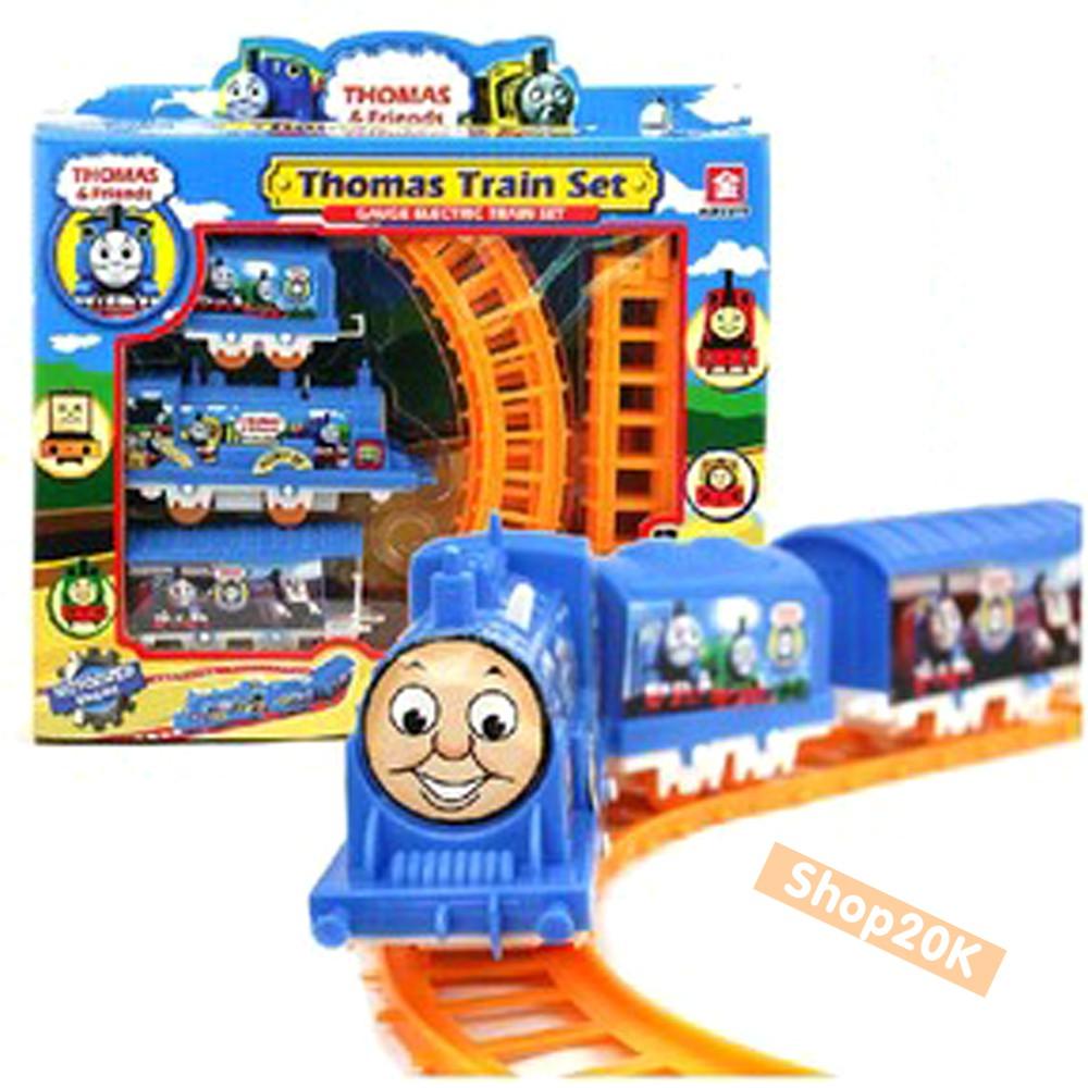 [Nhập TOY2107 giảm 15%] Đồ chơi xe lửa chạy trên vòng cho bé
