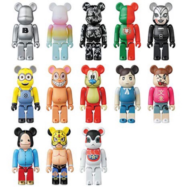 Bearbrick series 34 blindbox