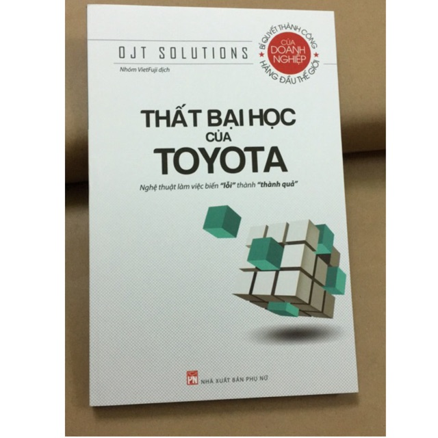 Sách - Thất Bại Học Của Toyota - 9786045646076 - 3517597 , 1209492129 , 322_1209492129 , 69000 , Sach-That-Bai-Hoc-Cua-Toyota-9786045646076-322_1209492129 , shopee.vn , Sách - Thất Bại Học Của Toyota - 9786045646076