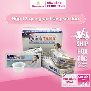 Quicktana - Hộp 12 que thử thai - Phát hiện thai nhanh chóng - Luôn che tên sản phẩm thumbnail