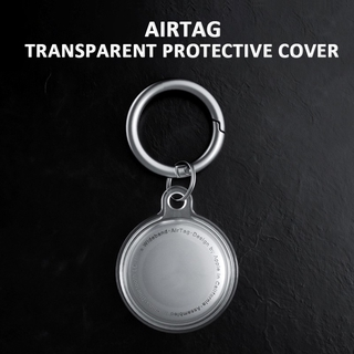 Silicone Vỏ Silicon Trong Suốt Chống Sốc Chống Rơi Chống Mất Bảo Vệ Cho Apple Airtags Mới