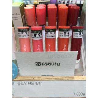 [Mã COSHOT25 giảm 10% đơn 350K] Son dưỡng có màu Innisfree Glow Tint Lip Balm 3.5g