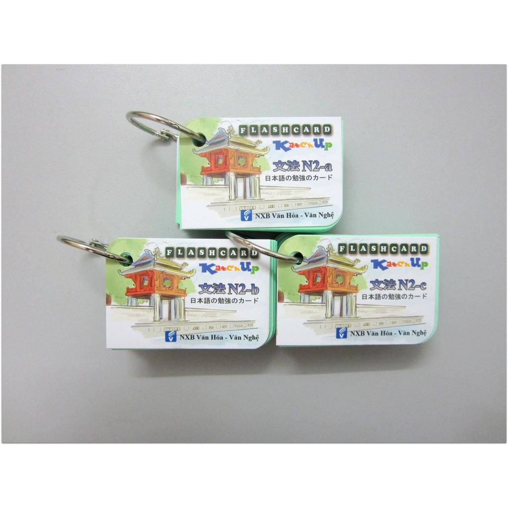 Flashcards Tiếng Nhật N2 Ngữ Pháp - 3 xấp