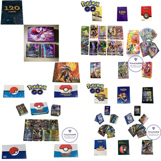 Thẻ Pokemon Bộ ( 60 100 120 200 ) Loại Thẻ Bóng Cao Cấp Nhiều Loại thumbnail