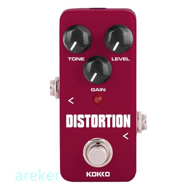 KOKKO FDS2 Mini Distortion Pedal Guitar Portable Effect