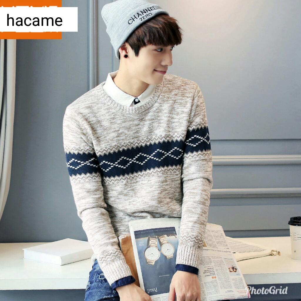 Áo len nam Hàn Quốc hàng có sẵn, có ảnh mẫu thật