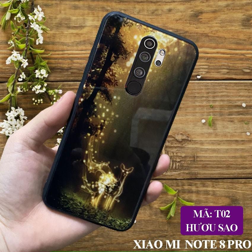 [Free Ship] Ốp lưng Xiaomi Redmi Note 8 Pro ốp điện th0ại mặt lưng kính KÍNH IN HÌNH chống trầy xước, đẹp, cao cấp
