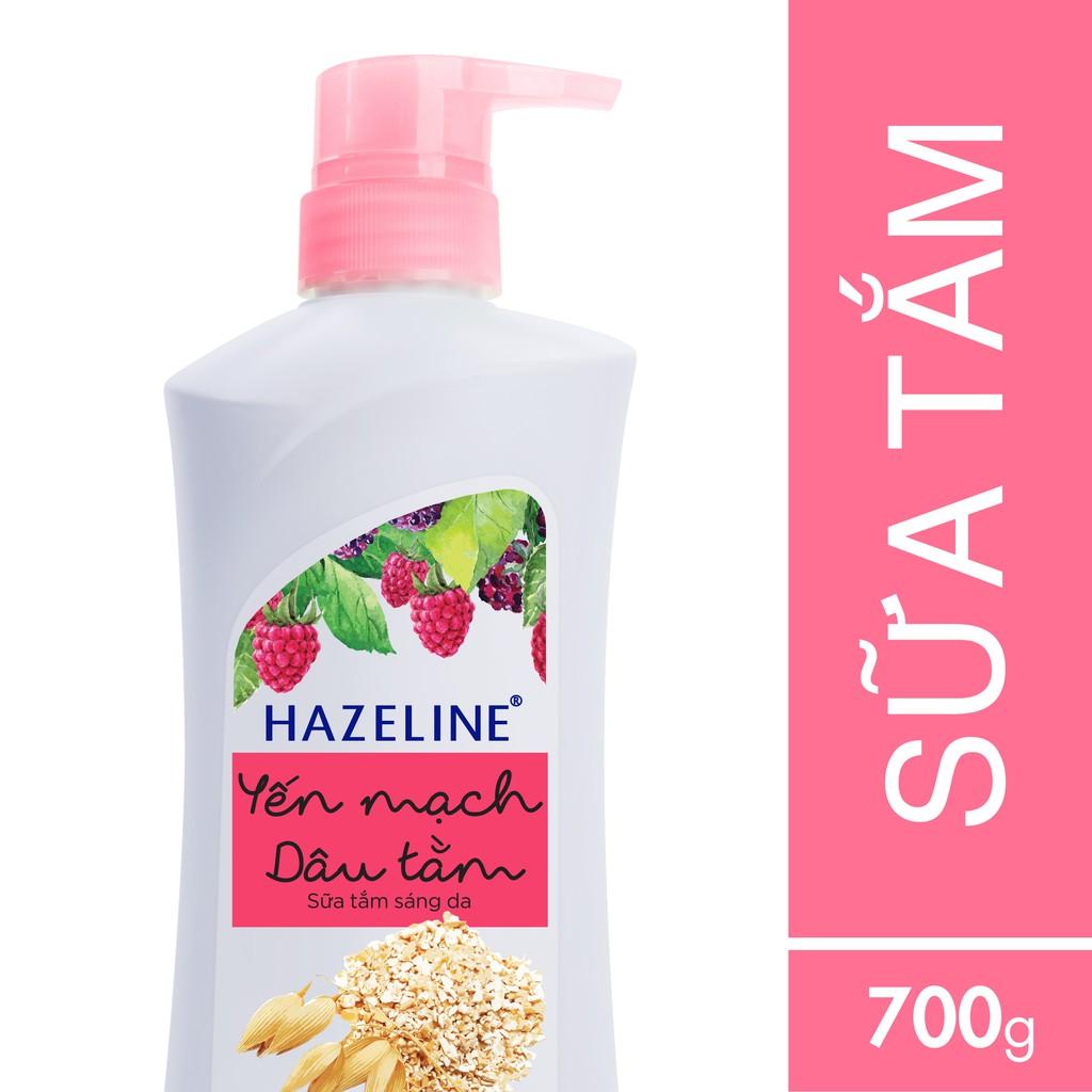 Sữa tắm dưỡng sáng da Hazeline Yến mạch - Dâu tằm 700g (MSP 67146100) - 3266537 , 420472650 , 322_420472650 , 99000 , Sua-tam-duong-sang-da-Hazeline-Yen-mach-Dau-tam-700g-MSP-67146100-322_420472650 , shopee.vn , Sữa tắm dưỡng sáng da Hazeline Yến mạch - Dâu tằm 700g (MSP 67146100)