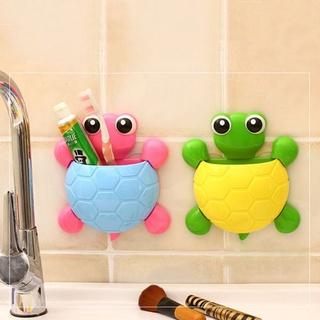 Dụng cụ cắm bàn chải và kem đánh răng hình chú rùa