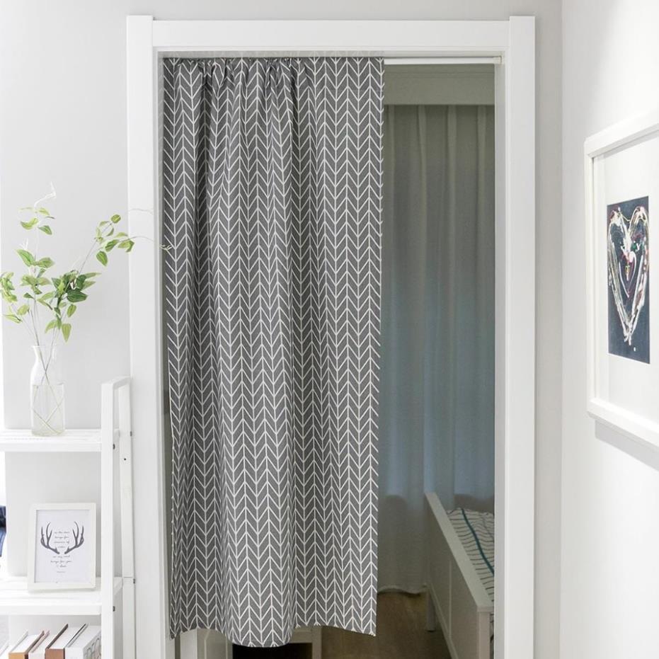 Rèm cửa, rèm kiểu nhật đa năng loại 1 mảnh ( full phụ kiện đã bao gồm thanh treo rèm)